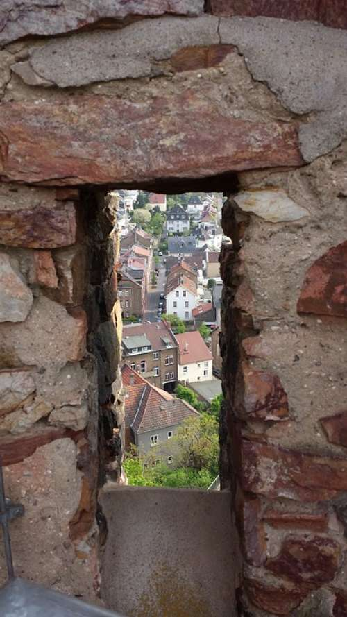 Castle Windows Embrasure Gathered Outlook