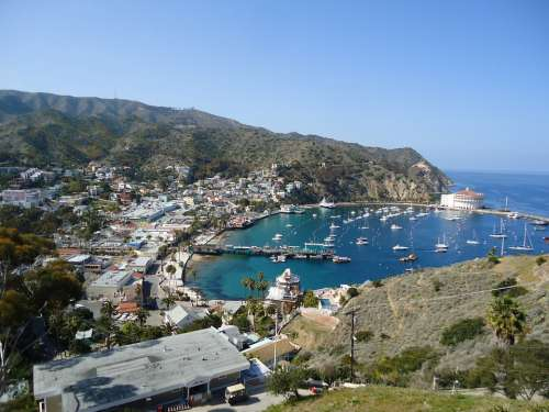 Catalina California Bay