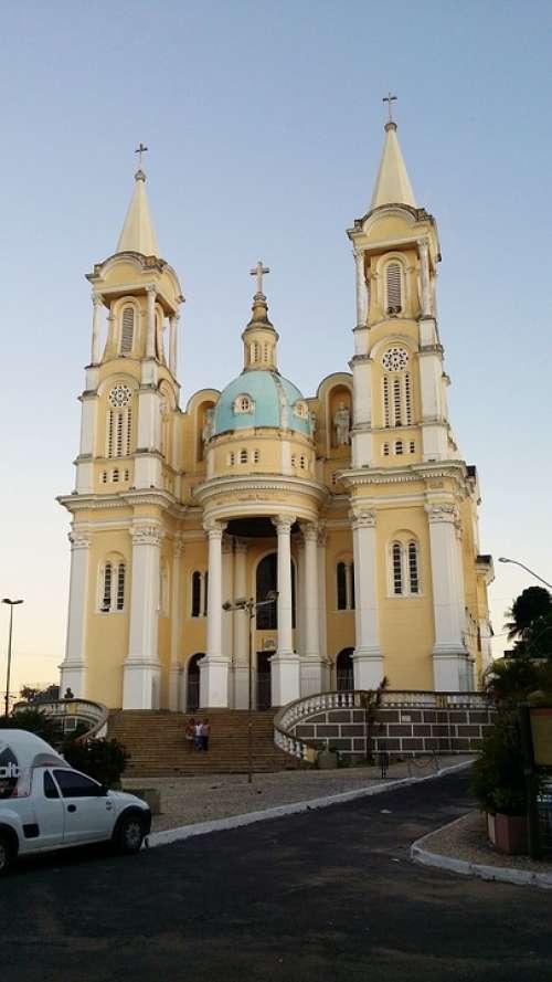 Cathedral São Sebastião Islets Bahia Brazil