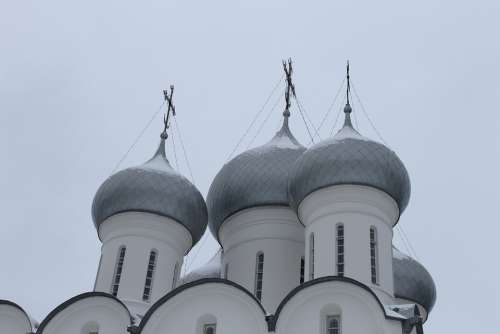 Cathedral Dome Vologda The Kremlin Church
