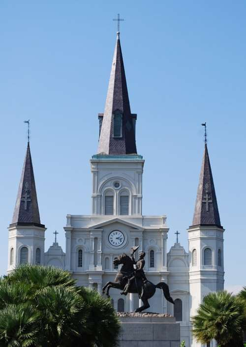 Cathedral New Orleans St Louis Cathedral Louisiana