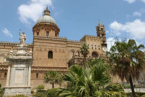Cathedral Of Palermo Sicily Italy