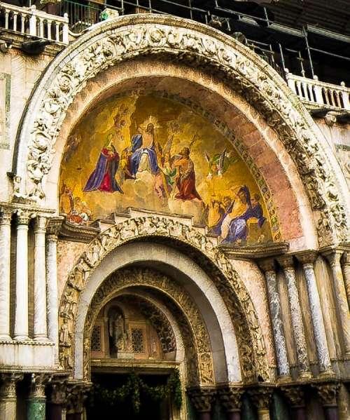Cathedral San Marco Door Venice Italy
