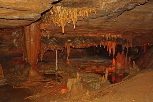 Cavern Tennessee Forbidden Caverns Stalagmites