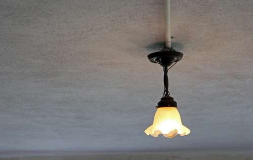 Ceiling Lamp Lamp Lighting Ceiling Light Old