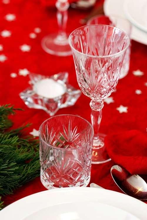 Celebration Christmas Crystal Decoration Dinner