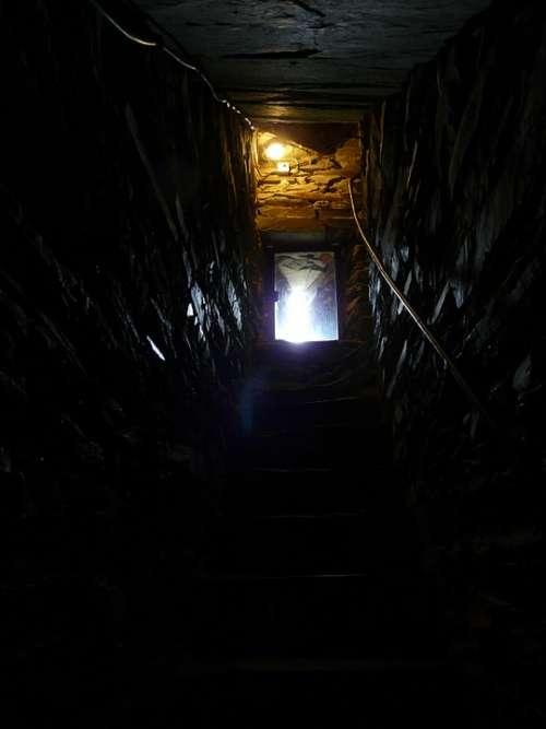 Cellar Outlet Gang Dark Creepy Gloomy Risk