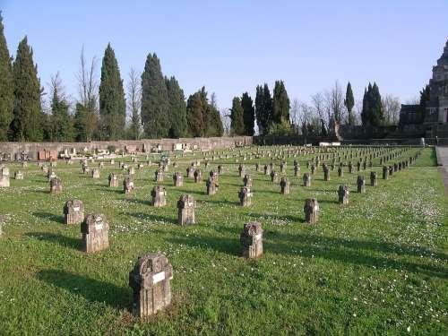 Cemetery Crespi D'Adda Capriate San Gervasio Adda