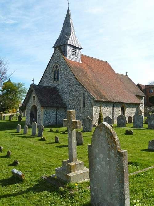 Cemetery Cross Graves Headstones Graveyard