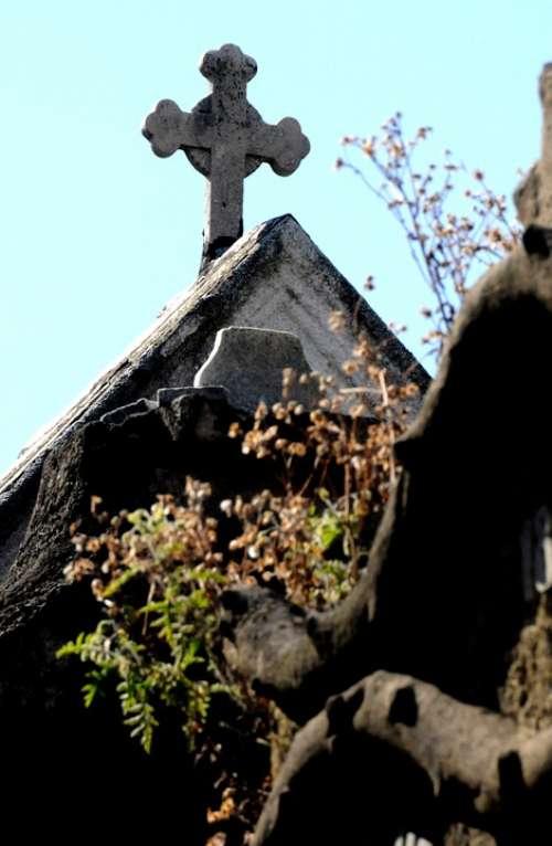 Cemetery Cross Building