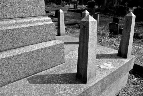 Cemetery Burial Graveyard Death Funeral Grave