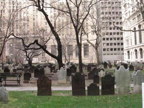Cemetery New York Wall Street