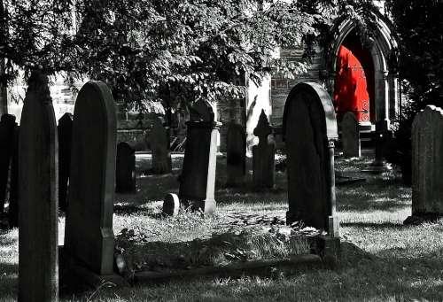 Cemetery Graveyard Grave Graves Dead Funeral