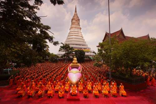 Ceremony Supreme Patriarch Buddhists Patriarch