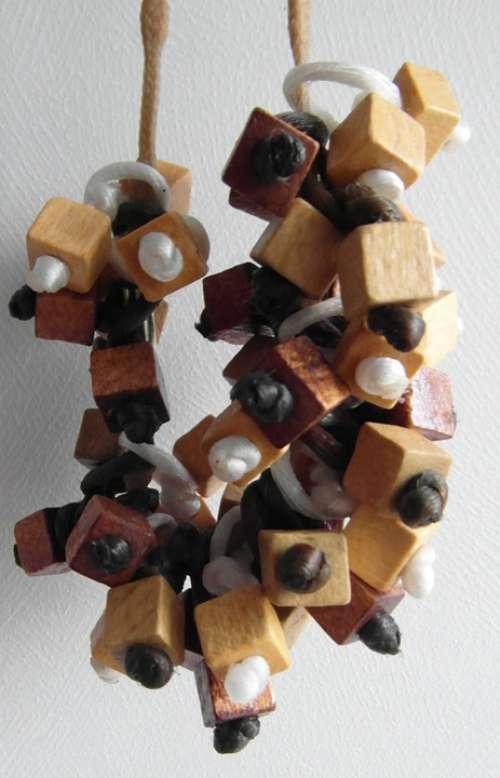 Chain Wood Jewellery