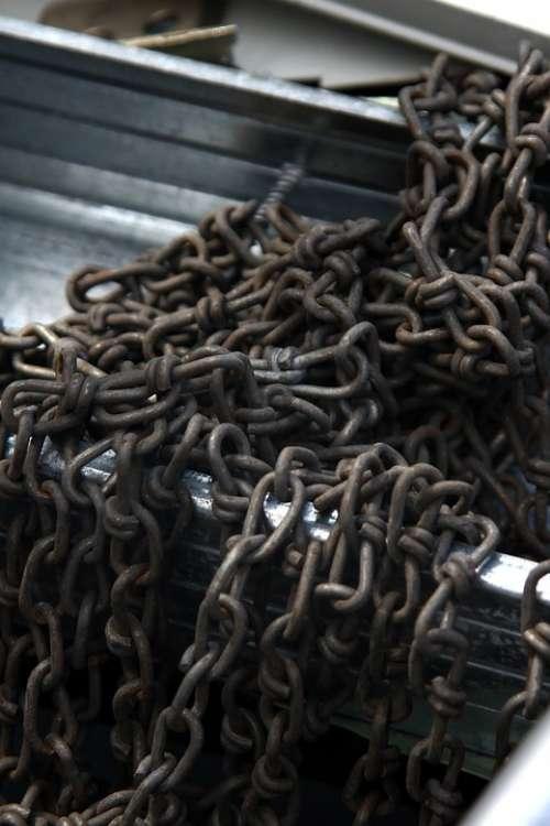 Chains Metal Iron Hard Chain Old
