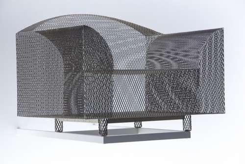 Chair Metal Braid Art Gallery