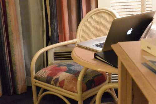 Chair Computer Desktop Mac Macbook Apple Wood