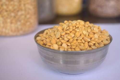 Chana Daal Food Lentils Indian Cuisine Oriental