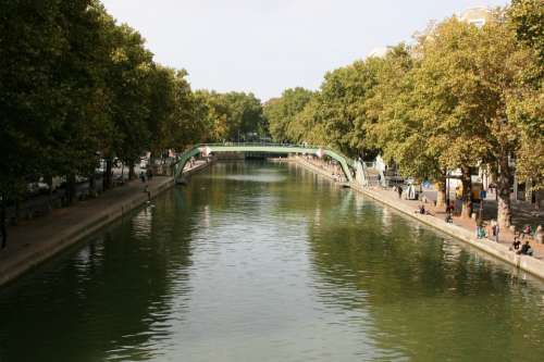 Channel Saint Martin Paris