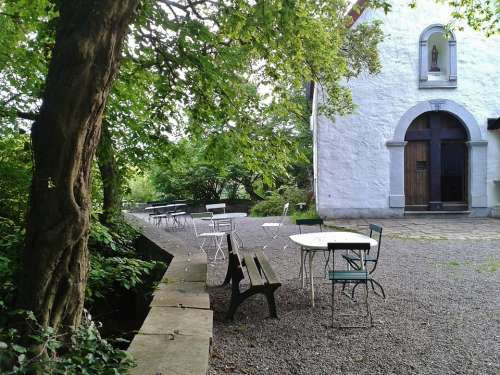 Chapel Wayside Chapel Away Nature Outside Catering