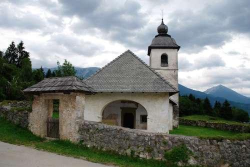 Chapel Church Europe Slovenia Mountain