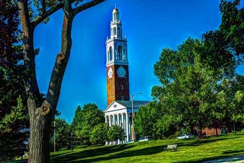 Chapel University Of Vermont Burlington Vermont