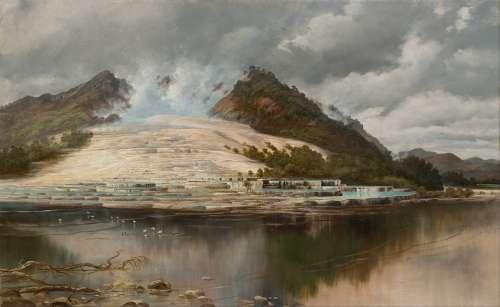 Charles Blomfield Painting Art Oil On Canvas