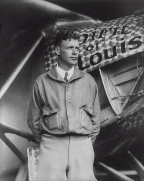 Charles Lindbergh American Aviator Author Inventor