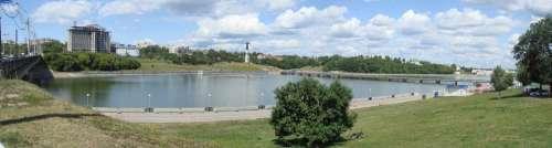 Cheboksary Bay Panorama