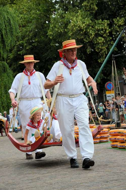 Cheese Market Edam Holland Tradition Culture