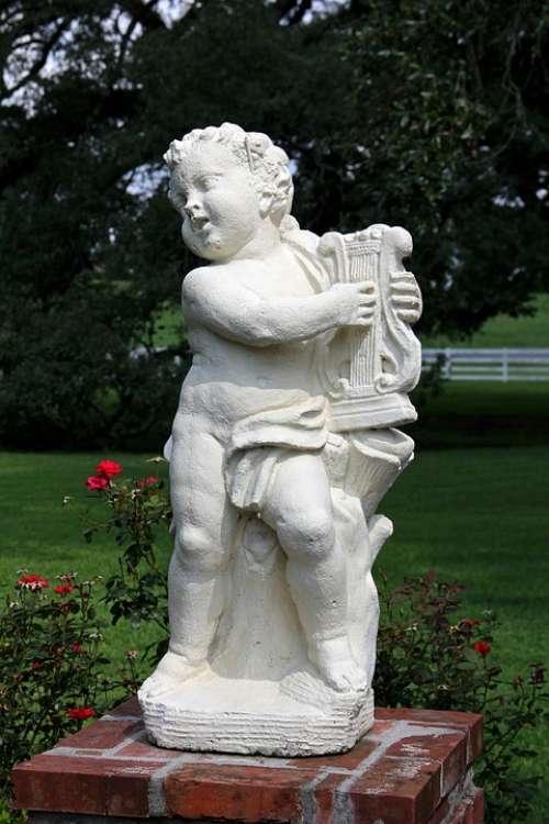 Cherub Angel Garden Statue Garden Figurines
