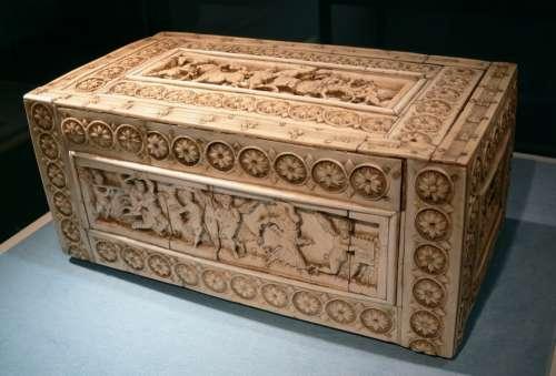 Chest Casket Byzantine Ivory Casket Ivory