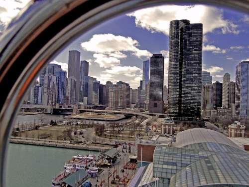 Chicago City Big City Urban Agglomeration