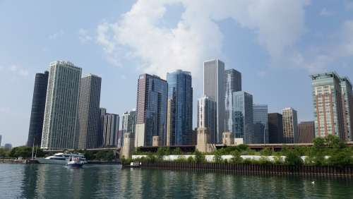 Chicago Architecture City Cityscape Skyline