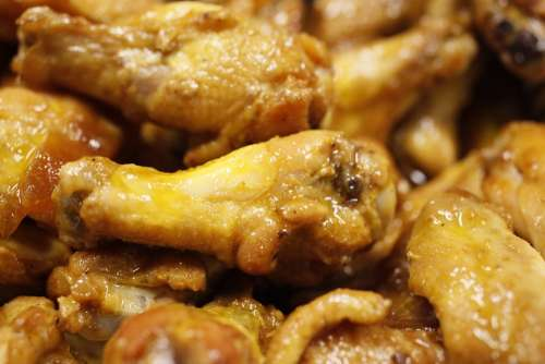 Chicken Wings Chicken Food Spicy Sauce Meat Hot
