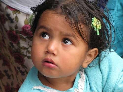 Child Honduras Cute Poor Baby Infant Latino