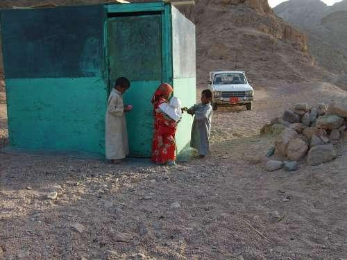 Children Play Desert Baby Egypt Hot Hurghada