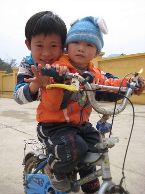 Children Infants Kids Bicycle Bike Vietnam