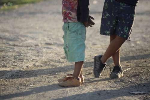 Children Boys Human Young Albania Poor Infants