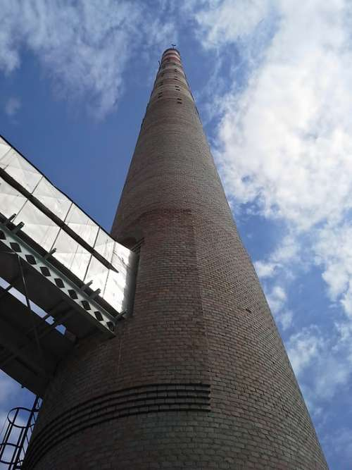 Chimney Industry Environment Factory