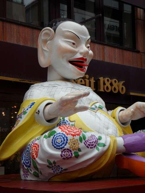 Chinese Meissen Porcelain Meissen Porcelain Statue