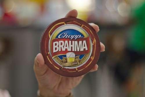 Chopp Beer Brahma Happy Hour Refreshing Cold