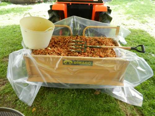 Chopped Apple Tractor Cider Tractor Box Cube