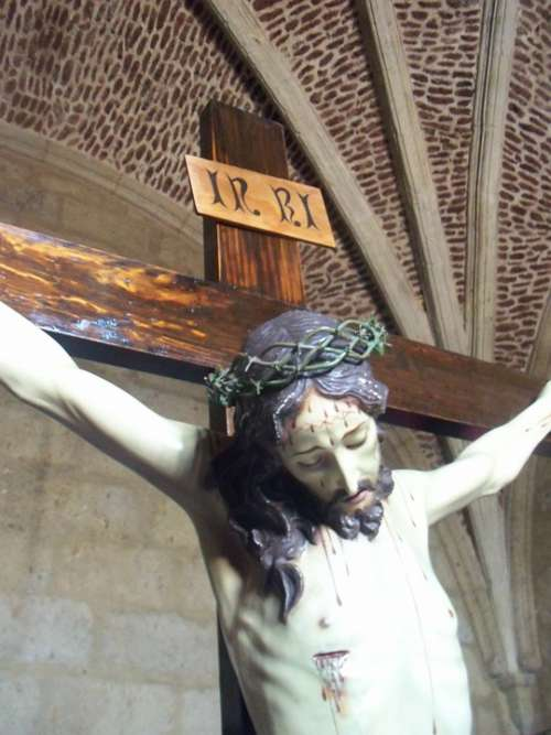 Christ Cruz Sacristy