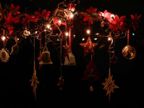 Christmas Advent X Mas Deco Star Bells
