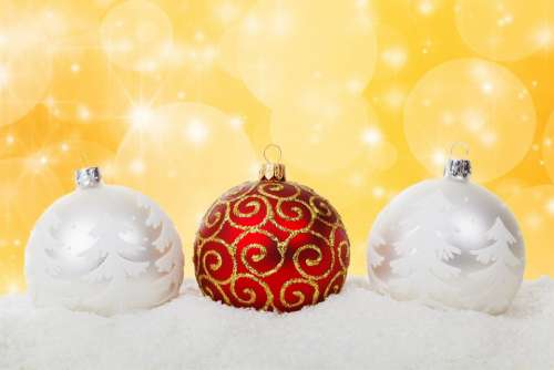 Christmas Christmas Ball Baubles Celebration