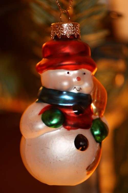 Christmas Christmas Bauble Snowman
