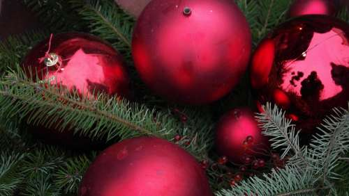 Christmas Balls Advent Atmosphere Christmas