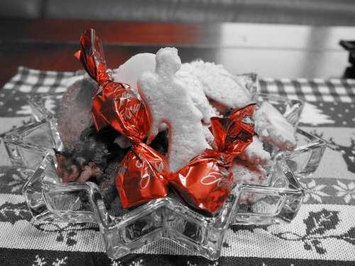 Christmas Cookies Cookie Chocolates Sweetness Shine